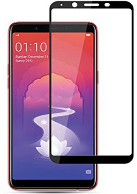iZAP Edge To Edge Tempered Glass for OPPO Realme 1(Pack of 1)
