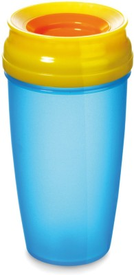Lovi 360 CUP WITH HANDLES BLUE (350ML) ACTIVE(Blue)
