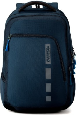 American Tourister Helix Bag 30.5 L Laptop Backpack(Blue)