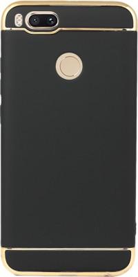 Flipkart SmartBuy Back Cover for Mi A1(Black, Gold, Shock Proof, Plastic)