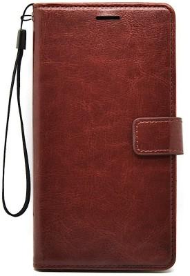IDesign Flip Cover for Mi Redmi Note 5 Brown