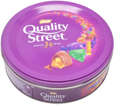 Nestle Quality Street Assorted Chocolates & Toffees - 480g Bars(480 g)