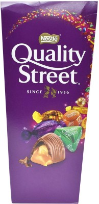 Nestle Quality Street Assorted Chocolates & Toffees - 257g Bars(257 g)
