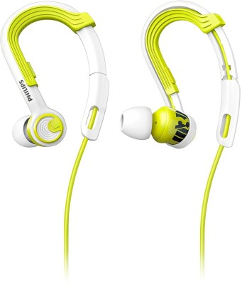 Philips SHQ3400LF Wired Headphone(White, Green, In the Ear)