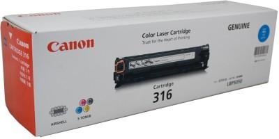 Canon 316 cyan Single Color Ink Toner(Cyan)