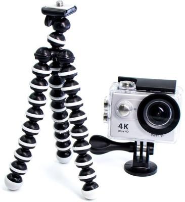 Pithadai Gorilla Tripod Fully Flexible Foldable Octopus Mini Tripod Kit(Black, Supports Up to 5500 g) 1