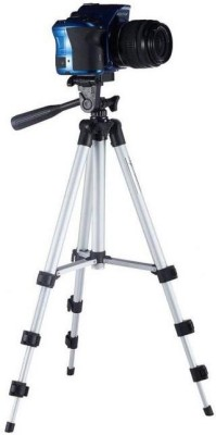 Doodads 3110 Mobile Tripod with mobile holder Tripod(Silver, Supports Up to 1500 g) 1
