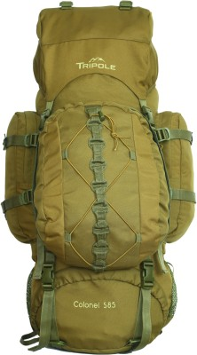 Tripole Colonel (With Detachable Day Pack) Rucksack  - 85 L(Brown)