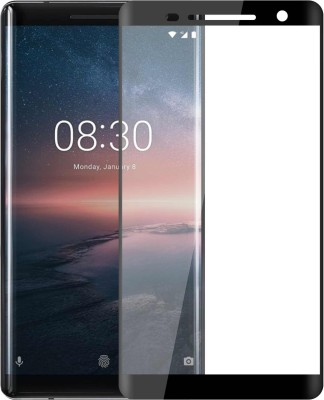 Case Creation Edge To Edge Tempered Glass for Nokia 8 Sirocco 2018(Pack of 1)