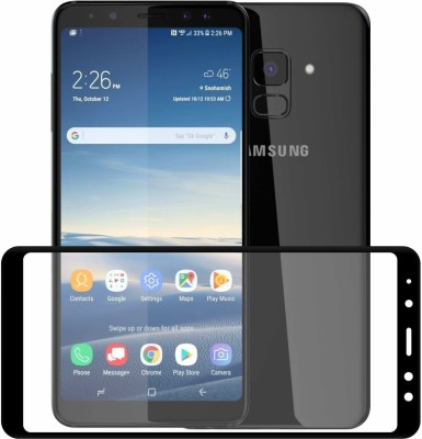 Case Creation Tempered Glass Guard for Samsung Galaxy A8 2018(Pack of 1)