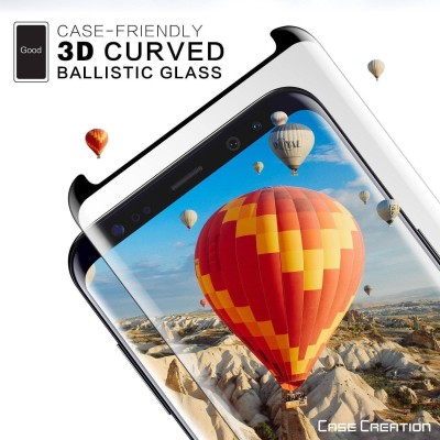 """Case Creation Edge To Edge Tempered Glass for Samsung Galaxy Note 8 6.3\""""inch 2018(Pack of 1)"""