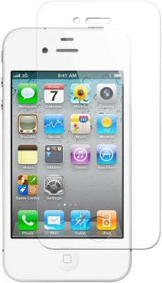 Go4Shopping Tempered Glass Guard for Apple iPhone 4s(Pack of 1)  available at flipkart for Rs.399