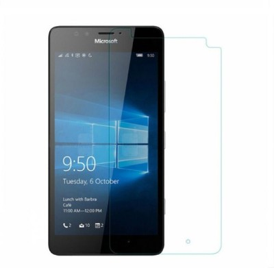 Case Trendz Tempered Glass Guard for Microsoft Lumia 640 Xl Lte Dual Sim(Pack of 1)