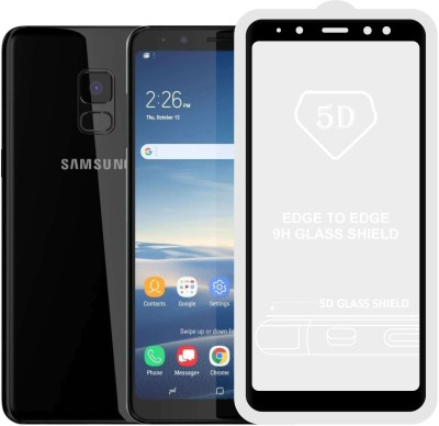Case Creation Edge To Edge Tempered Glass for Samsung Galaxy A8 2018(Pack of 1)