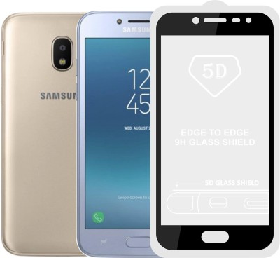 Case Creation Tempered Glass Guard for Samsung Galaxy J4 SM-J400 FZ(Pack of 1)