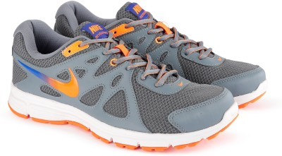 Nike NIKE REVOLUTION 2 MSL Running Shoes For Men(Grey) 1