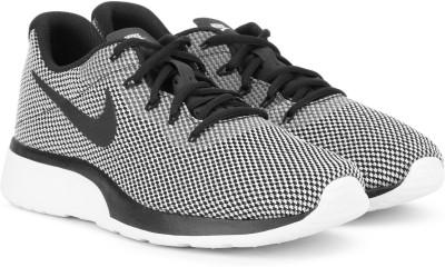 Nike NIKE TANJUN RACER Sneakers For Men(Black, White, Grey) 1