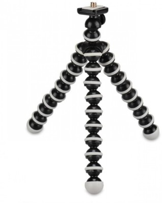 Power Smart Flexible Hard Plastic Ball Leg Mini GorillaPod For Mobile Camera Black, Supports Up to 3000 g Power Smart Camera Accessories
