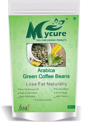 63 Off On Mycure Arabica Green Coffee Beans For Weight Loss