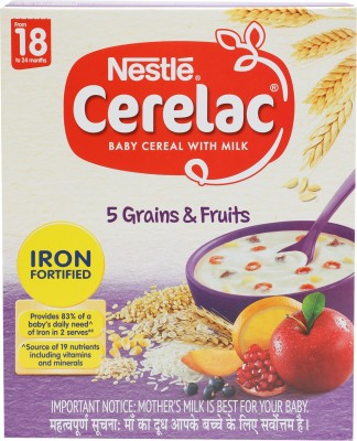 Nestle 5 Grains and Fruits Cereal(300 g)