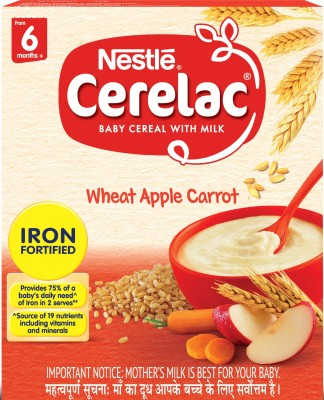 Nestle Wheat Apple Carrot Cereal(300 g)