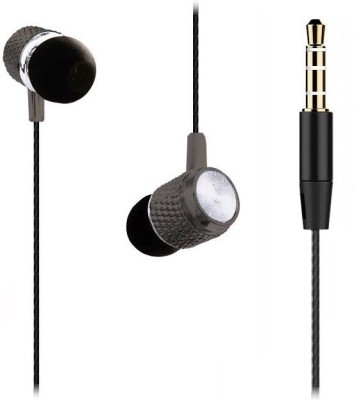 Edfigo Hi-Fi Sound & Clear Bass (In-Ear) Sigelun Wired Headset with Mic(Black, In the Ear)
