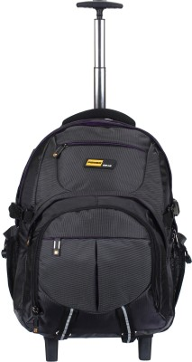 POWER GEAR 15.6 inch Expandable Trolley Laptop Strolley Bag Purple, Black POWER GEAR Laptop Bags