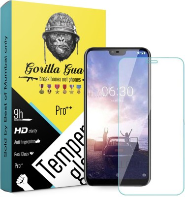 Gorilla guard Impossible Screen Guard for Nokia X6 2018 5.8inches(Pack of 1)