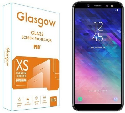 Glasgow Tempered Glass Guard for Samsung Galaxy A6(Pack of 1)
