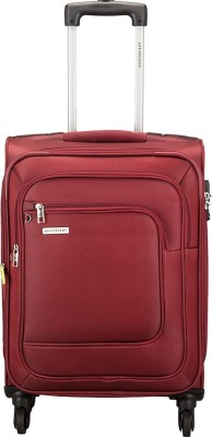 Aristocrat FIESTA 4W EXP STROLLY 59 RED Expandable Check in Luggage   23 inch