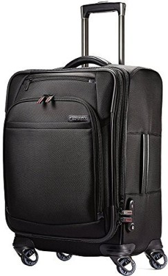 Samsonite Solid soft Body Expandable  Check-in Luggage - 25 inch(Black)