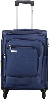 Aristocrat FIESTA 4W EXP STROLLY 59 BLUE Expandable Check in Luggage   23 inch Aristocrat Suitcases