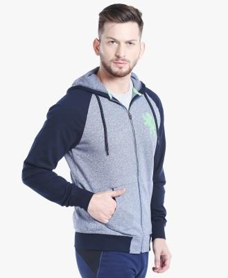 Spunk by fbb Full Sleeve Self Design Men Sweatshirt at flipkart