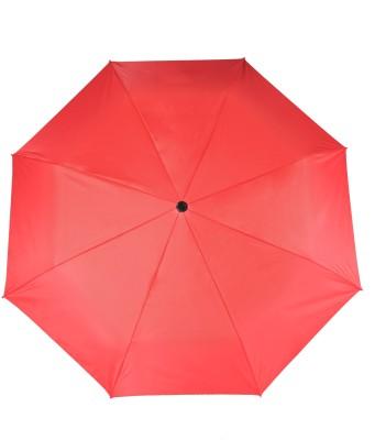 Flipkart SmartBuy 3 fold Auto Open Nylon Umbrella(Red)