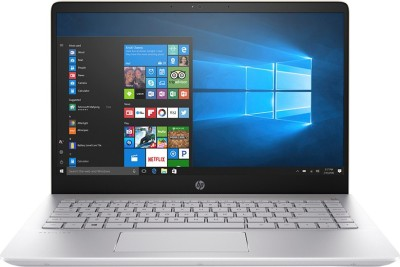 HP 14 Core i5 8th Gen - (8 GB/256 GB SSD/Windows 10 Home) 14-bf120TU Laptop(14 inch, Silk Gold, 1.54 kg)