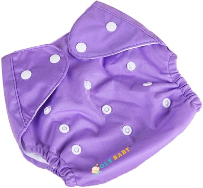 Ole Baby Cloth REUSABLE Nappy Organic Cotton Anti Bacterial Washable Free Size Adjustable WaterProof Covered 0 2 Years Ole Baby Nappy