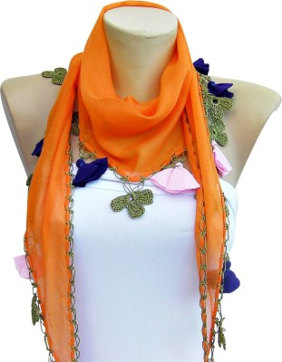 LA Riyo Georgette Embroidered Women Dupatta at flipkart