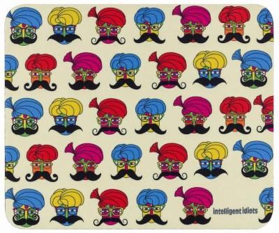 Intelligent Idiots mucchi Mousepad(Multicolor)