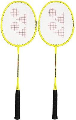 Yonex ZR   100 Yellow Strung Badminton Racquet Pack of: 2, 200 g Yonex Badminton Racquet