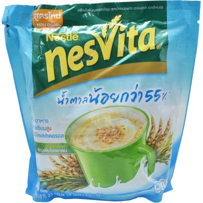 Nestle Nesvita Instant Cereal Beverage Lower Sugar Formula - 350g (14x25g) 350 g