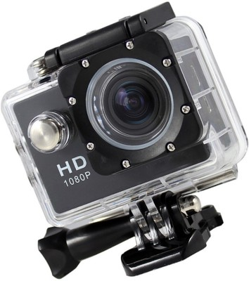 ALONZO Action Camera Ultra HD 30m under Waterproof Sport Camera 12MP 170 Degree Wide Angle Sports and Action Camera(Black 12 MP) 1