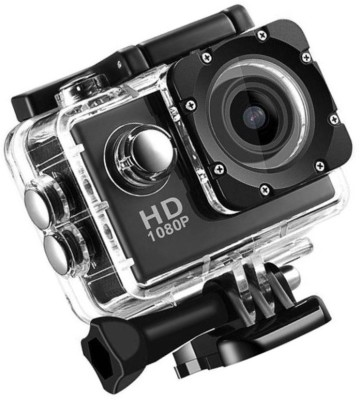 ALONZO Sport Action Camera /30fps 12MP Action Camera with EIS, Ultra HD 30m Waterproof Camera with Remote Control, 170 Degree Wide Angle Sports and Action Camera(Black 12 MP) 1