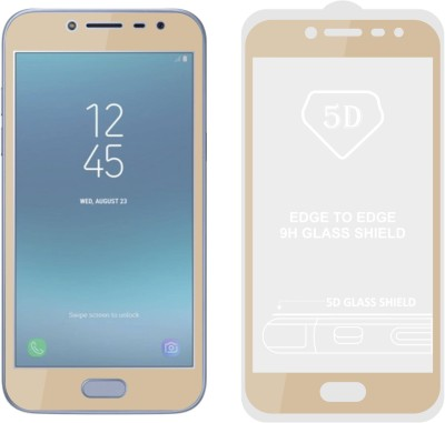 Case Creation Edge To Edge Tempered Glass for Samsung Galaxy J7 Duo 2018(Pack of 1)