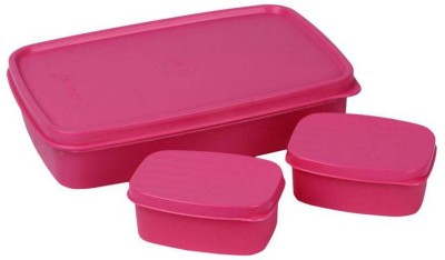 Cello MAX FRESH  Pink  3 Containers Lunch Box 750 ml