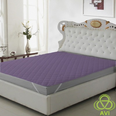 AVI Elastic Strap XL Size Waterproof Mattress Protector(Purple)