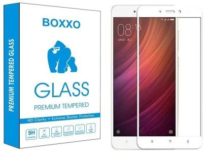 Boxxo Edge To Edge Tempered Glass for Mi Redmi 4