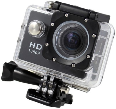 ALONZO Action Camera Ultra HD Sports Video Cam Waterproof DV Underwater Camcorder 12MP 30M Diving Sports and Action Camera(Black 12 MP) 1