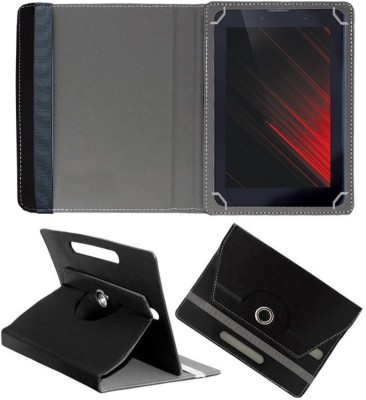Fastway Book Cover for iBall Slide Enzo V8 7 inch(Black, Cases with Holder)