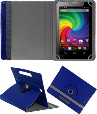 Fastway Book Cover for Micromax Funbook Mini P410i Tablet(Blue, Cases with Holder)