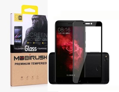 MOBIRUSH Edge To Edge Tempered Glass for Xiaomi Redmi 4 and Mi 4x(Pack of 1)